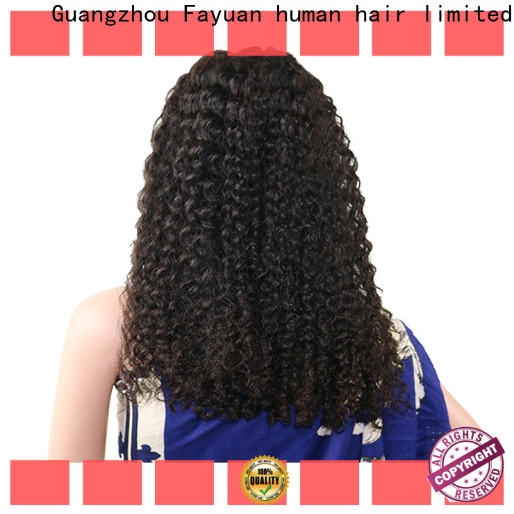 Fayuan Hair lace human hair lace wigs company for men