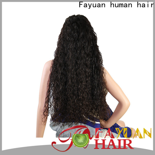Fayuan Hair straight custom made wigs near me company for street