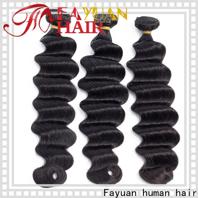 Fayuan Hair loose hair extensions for indian hair manufacturers for men
