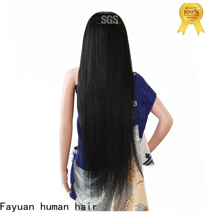 Fayuan Hair High-quality custom made human hair wigs factory for women