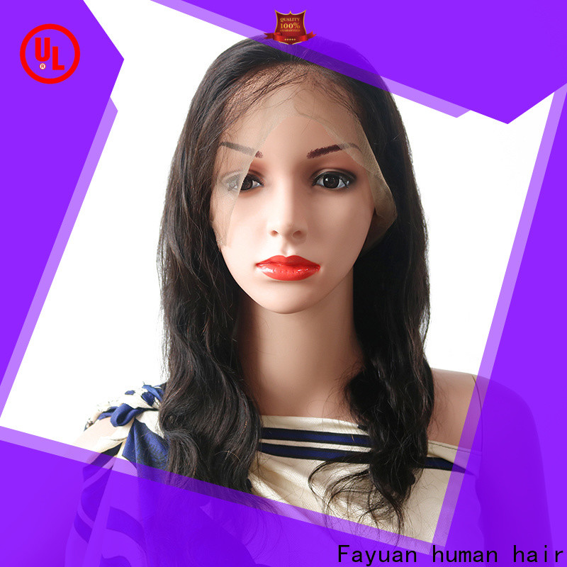 Fayuan Hair Custom full lace wig cap factory for street