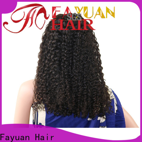 Fayuan Hair High-quality straight lace front wigs Suppliers for street