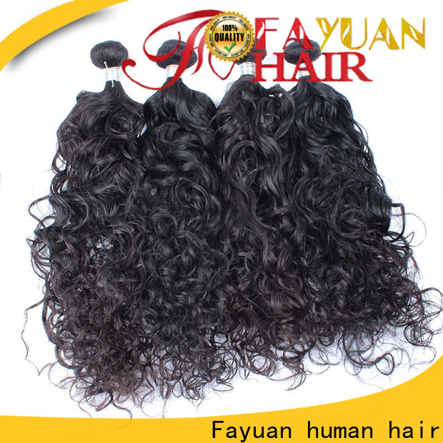 Fayuan Hair Top virgin malaysian curly hair bundle deals factory for women