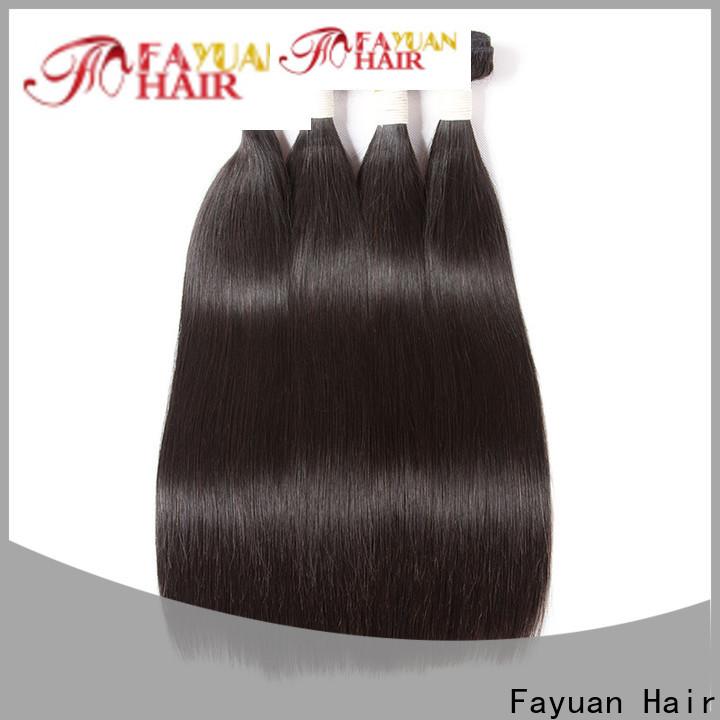 Fayuan Hair Latest cheap brazilian hair bundles for business for barbershop