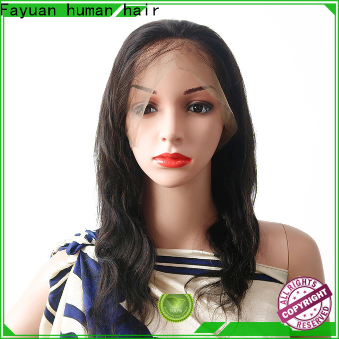 Fayuan Hair aligned full lace wig manufacturers for women