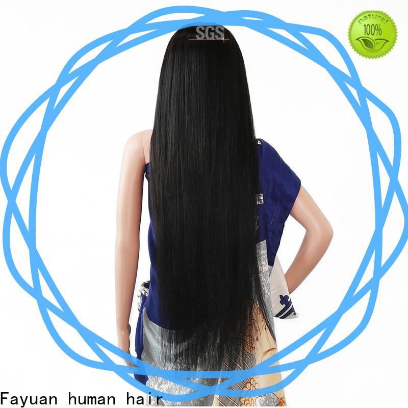 Fayuan Hair holiday custom hair wigs Supply for men