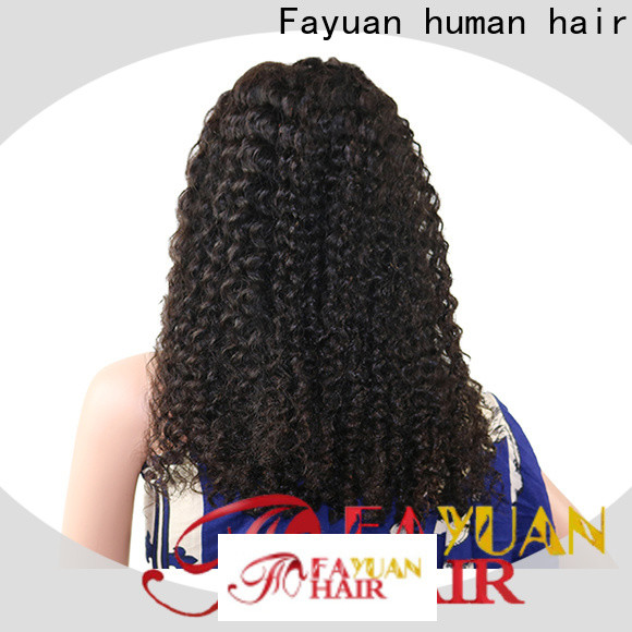 Fayuan Hair sales lace front toupee company for selling