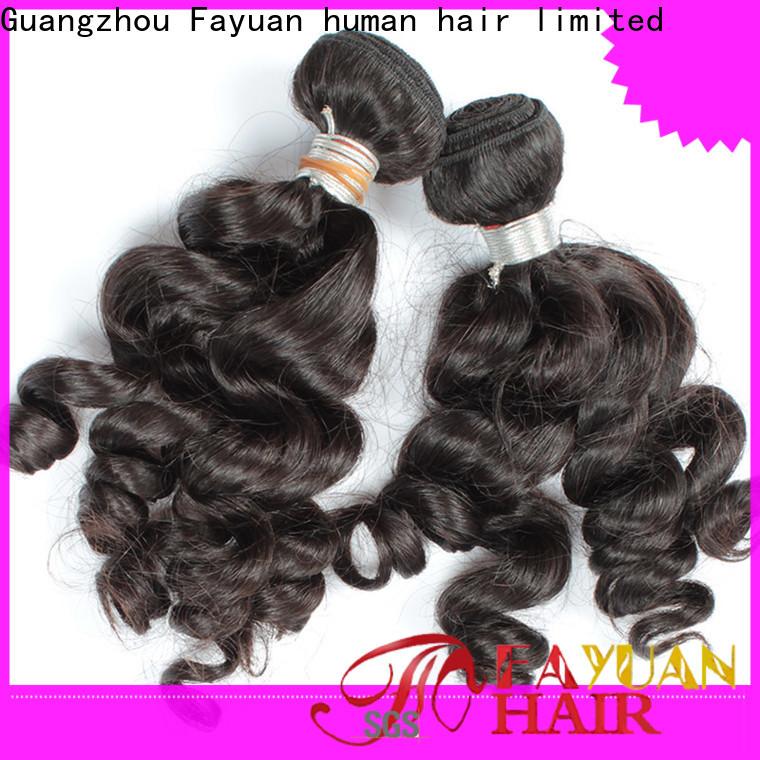 Fayuan Hair High-quality indian human hair price manufacturers for women