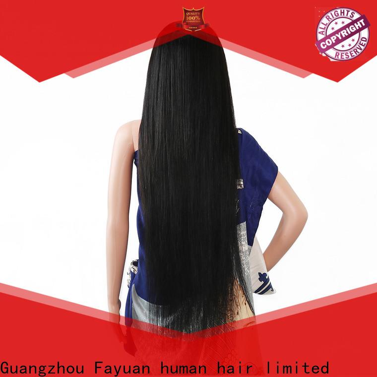 Fayuan Hair Custom custom full lace human hair wigs Suppliers for women