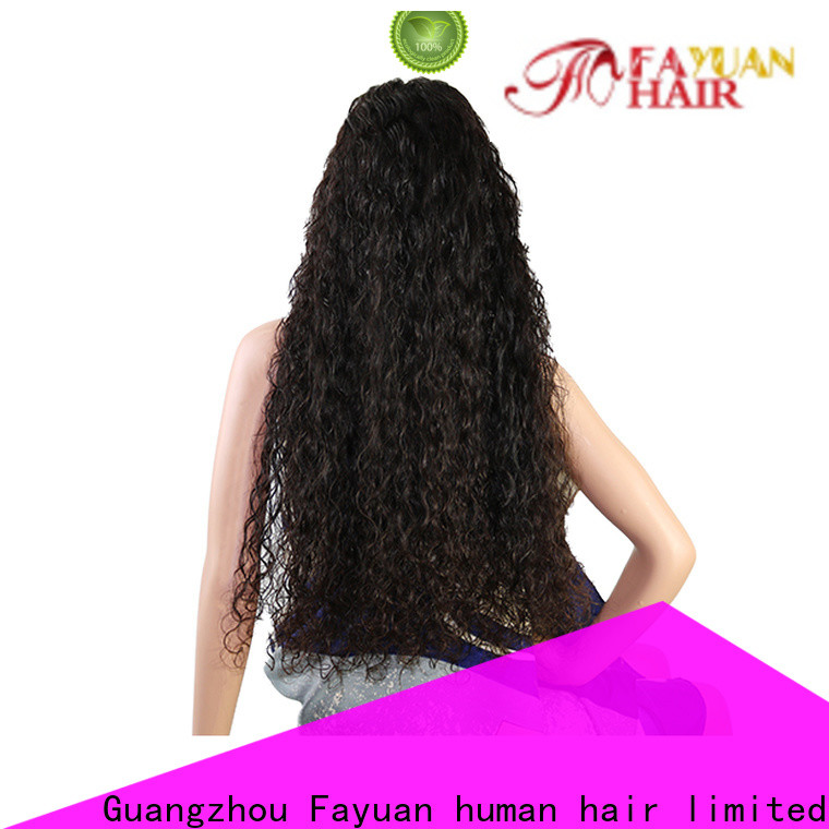 Fayuan Hair Latest custom made wigs for sale factory for barbershop