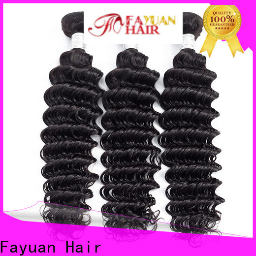 Fayuan Hair body best peruvian hair manufacturers for men