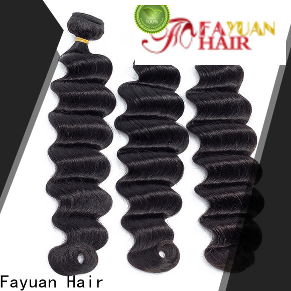 Fayuan Hair virgin indian hair factory for street