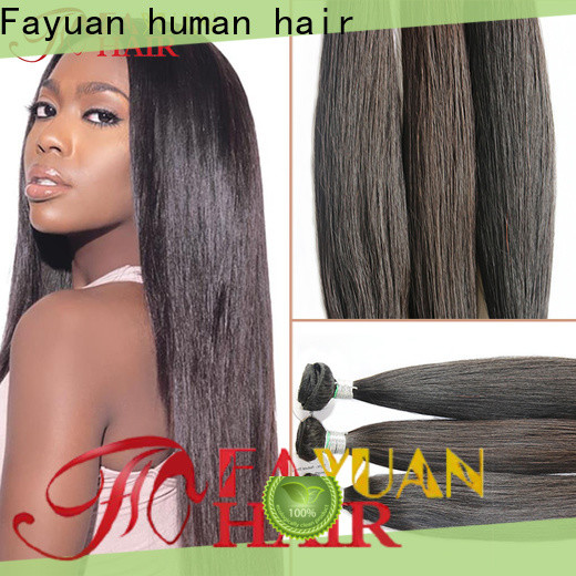 Fayuan Hair Best full lace wig factory for barbershop