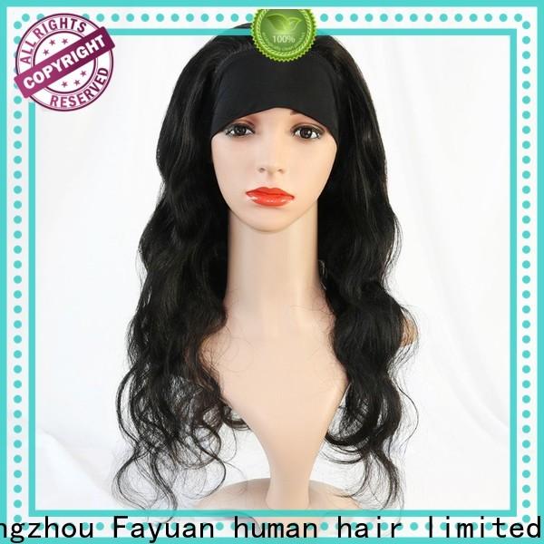 Fayuan Hair online long curly human hair wigs factory for women