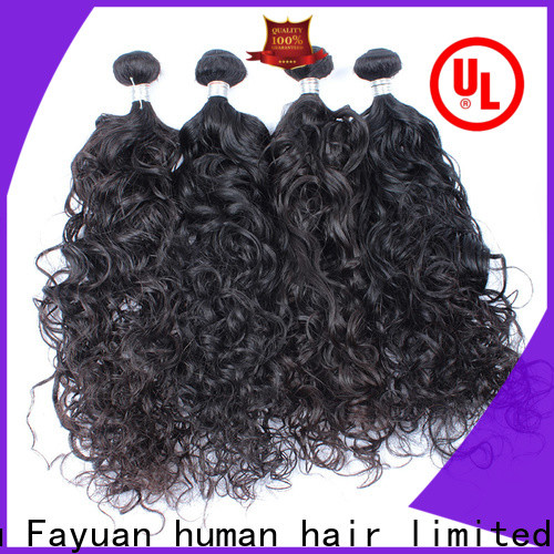 Fayuan Hair wave malaysian hair factory for barbershopp