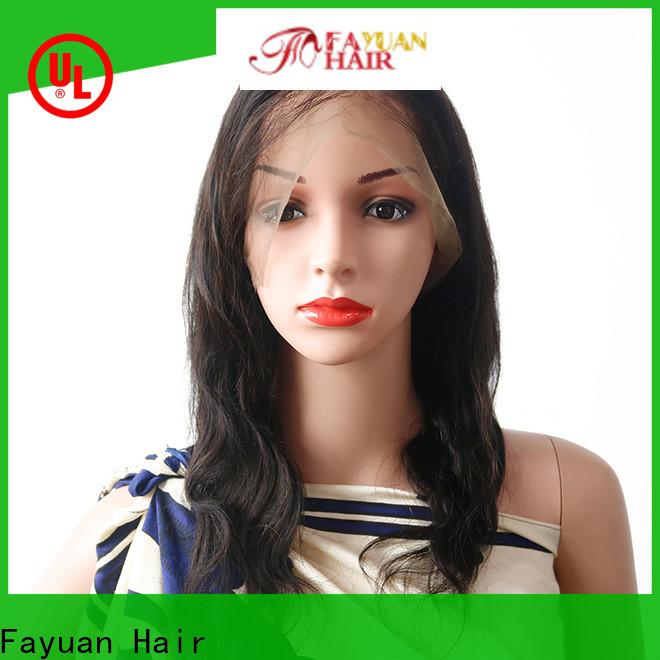 Custom best full lace wigs full company for street