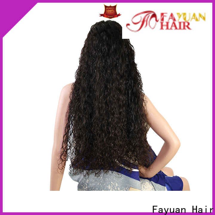 High-quality custom made full lace human hair wigs price for business for barbershop