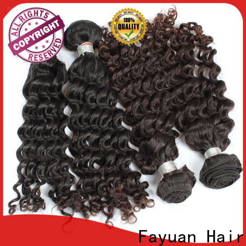 Fayuan Hair wave malaysian wavy hair bundles company for selling
