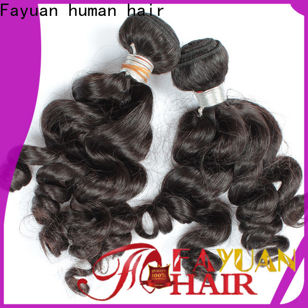 Fayuan Hair loose real indian hair weave manufacturers for women