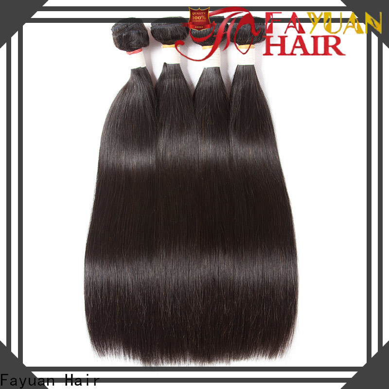 Fayuan Hair grade brazilian hair bundles wholesale Suppliers for selling