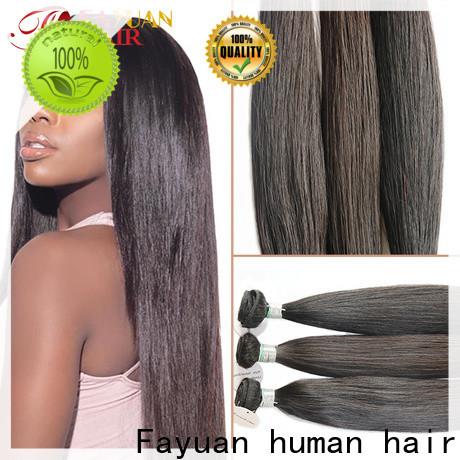 Fayuan Hair human full lace human hair wigs Supply for men