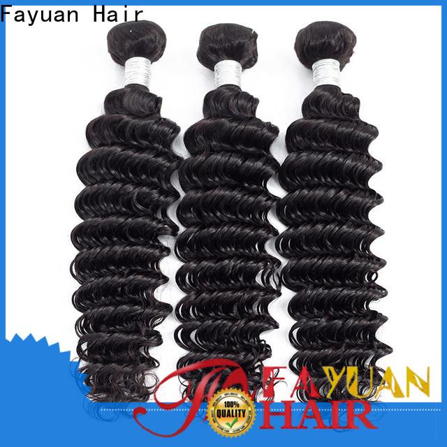 Fayuan Hair weave peruvian human hair manufacturers for barbershop