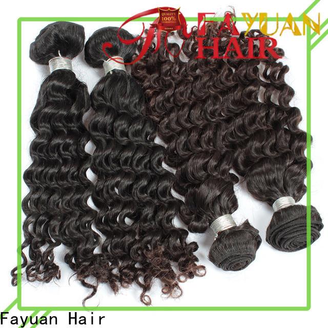 Fayuan Hair human malaysian human hair factory for selling