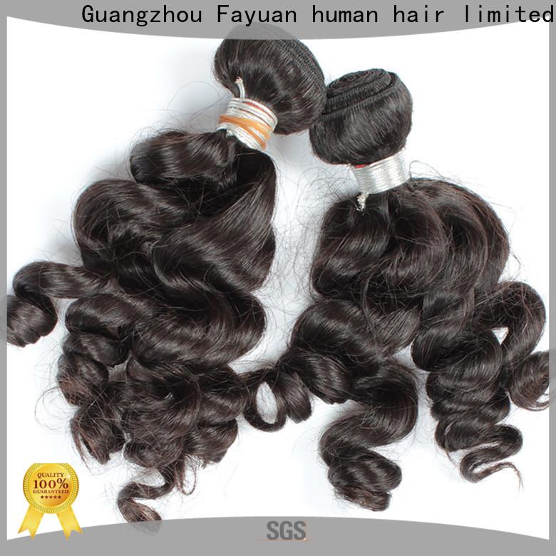 Fayuan Hair Custom indian hair wholesale suppliers Supply for women