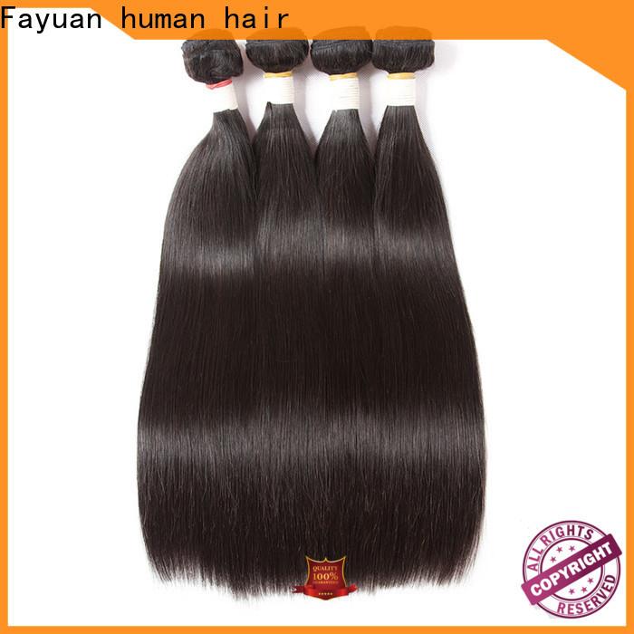 Fayuan Hair wave brazilian human hair weave bundles for business for street