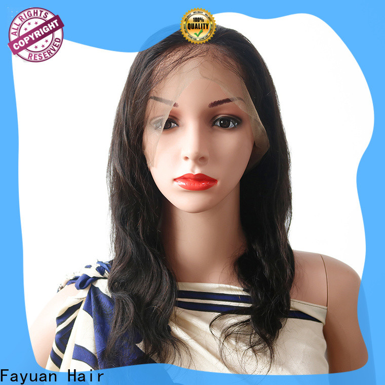 Fayuan Hair Latest full lace human hair Suppliers for men