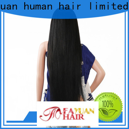 Fayuan Hair price custom human hair lace front wigs factory for women