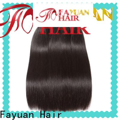 Fayuan Hair Custom real brazilian hair extensions Suppliers for men