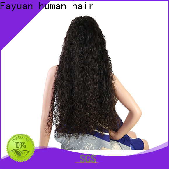 Fayuan Hair High-quality custom human hair lace front wigs for business for barbershop