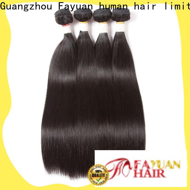 Fayuan Hair hair cheap brazilian human hair bundles company for barbershop
