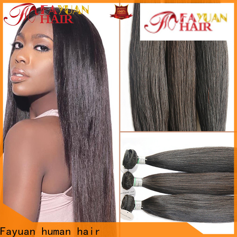 Fayuan Hair Best glueless lace front wigs for business for street