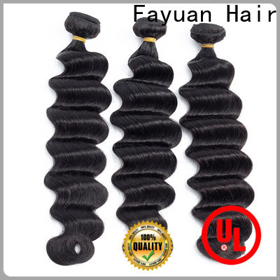 Fayuan Hair wave indian curly hair weave for business for street