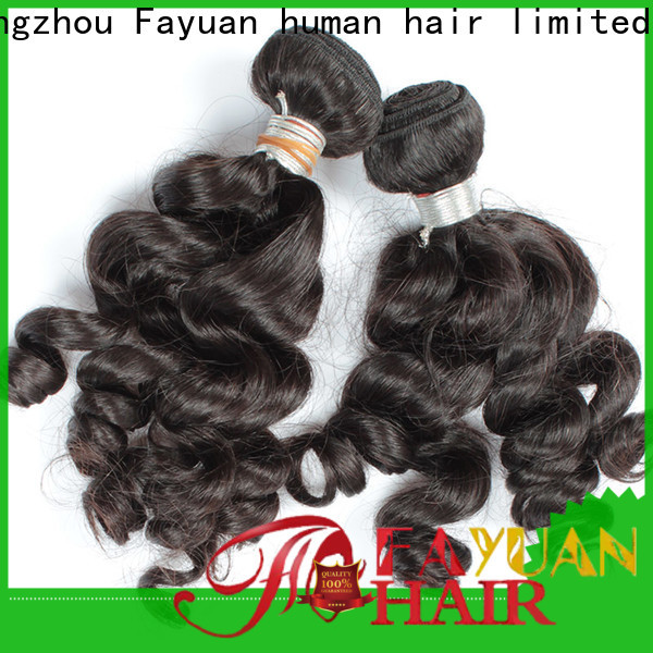 Fayuan Hair High-quality indian hair weave for cheap factory for women