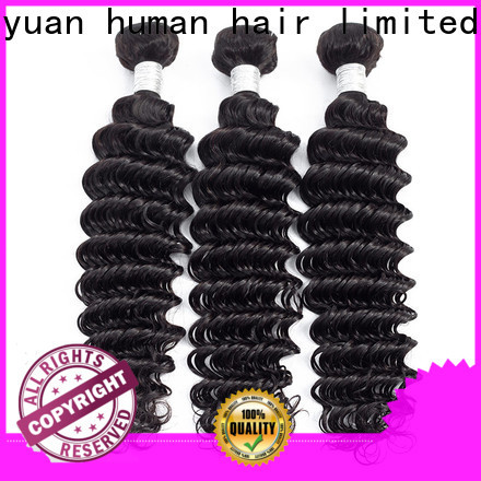 Fayuan Hair virgin peruvian wavy hair bundles Supply for street