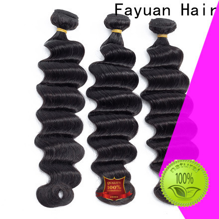Fayuan Hair loose hair extensions for indian hair factory for men