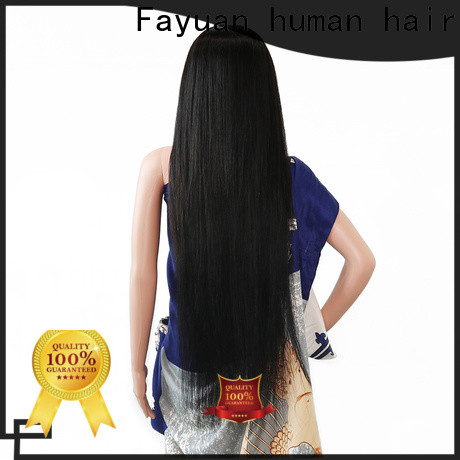 Custom custom made real hair wigs straight Suppliers for selling