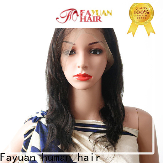 Top curly full lace wigs human hair unprocessed for business for street