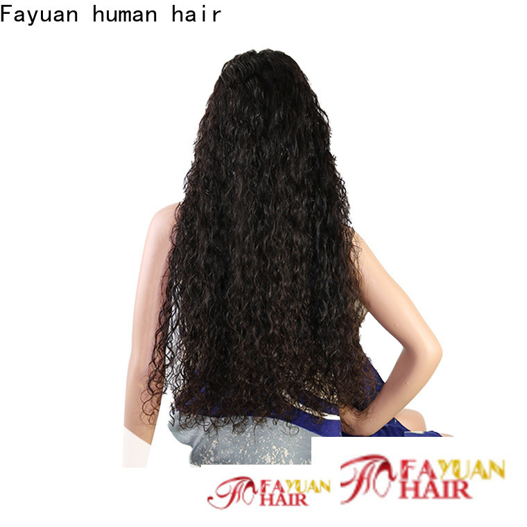 Fayuan Hair Wholesale custom human hair lace front wigs Supply for selling