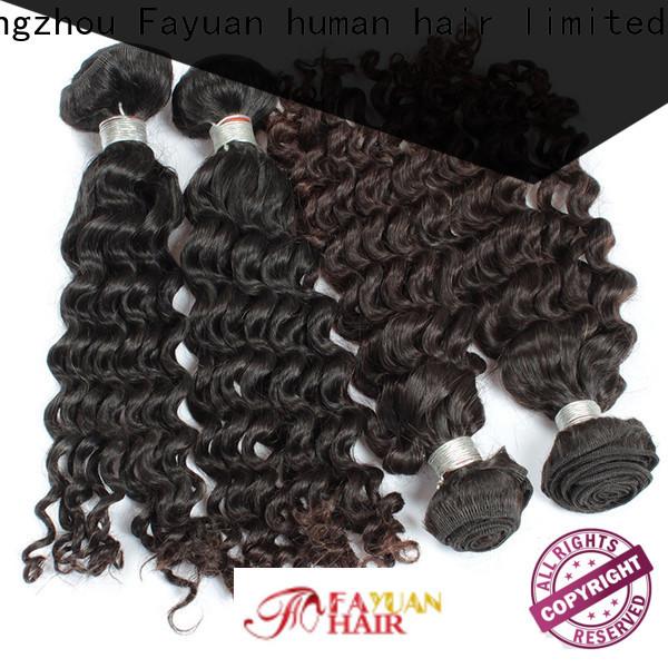 Fayuan Hair malaysian malaysian wave hair factory for barbershopp