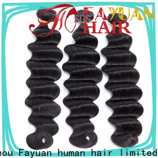 Fayuan Hair deep indian hair extensions factory for women