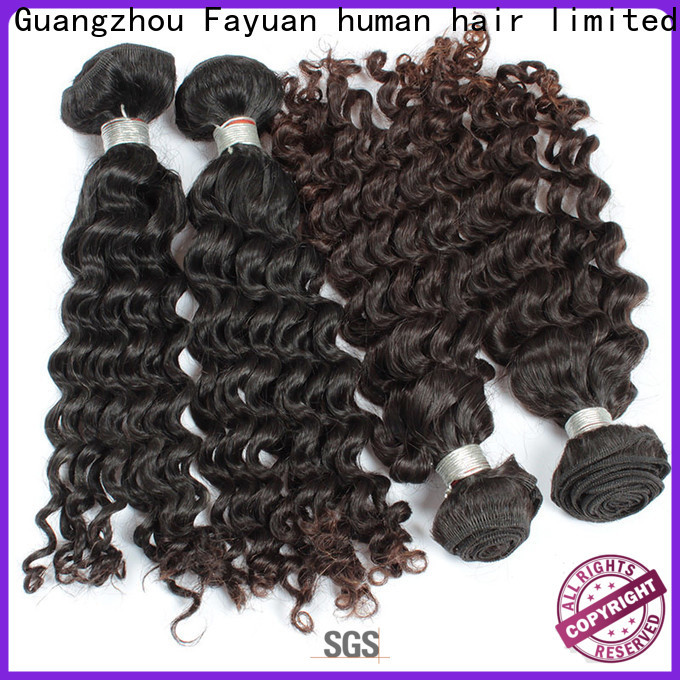 Fayuan Hair virgin malaysian wave hair for business for selling