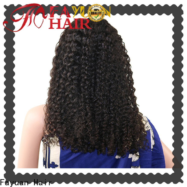 Fayuan Hair Wholesale curly lace front wigs company for black women