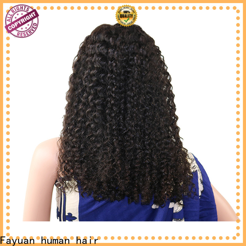 Fayuan Hair High-quality indian hair lace front wig manufacturers for men