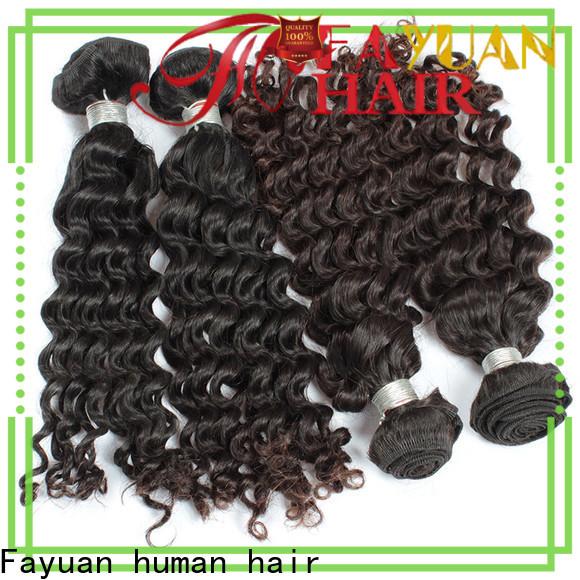 Fayuan Hair curl malaysian hair bundles for sale Suppliers for men