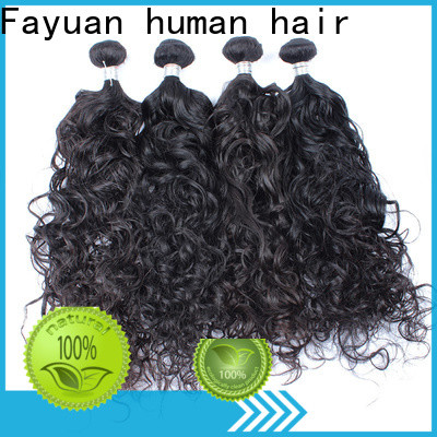 Fayuan Hair New malaysian deep curly hair weave for business for barbershopp