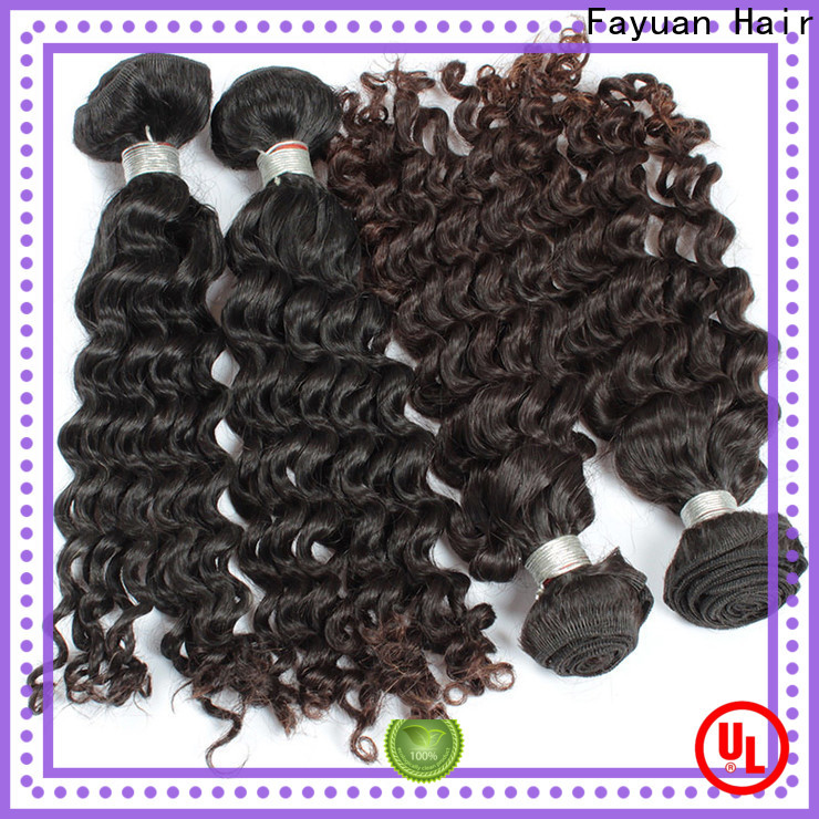 Fayuan Hair Latest malaysian curly human hair factory for barbershopp